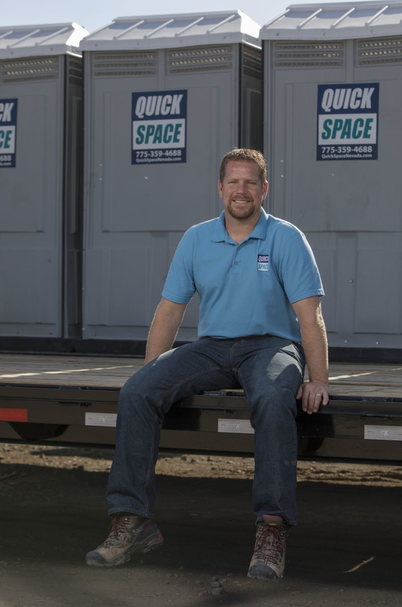 Rob Heaton of Quick Space in Sparks, Nevada