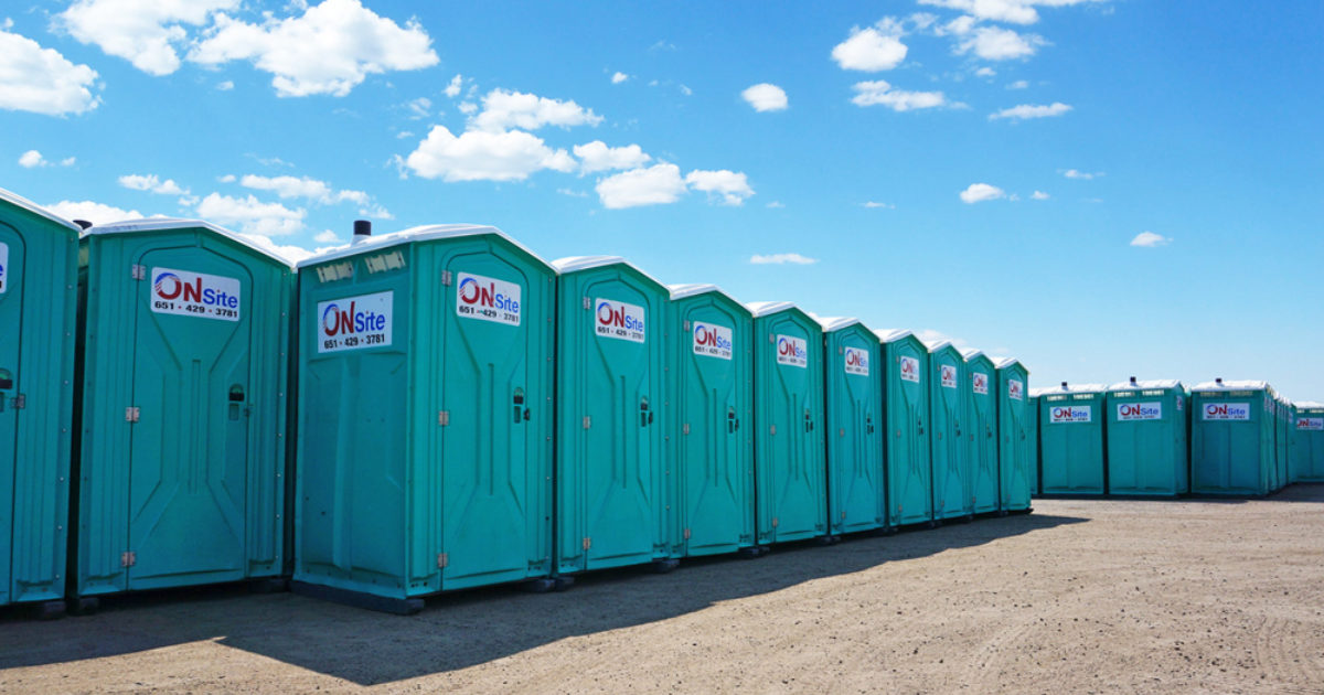 Bathroom Stalls Per Employee how many portable restrooms should i buy? | pro monthly