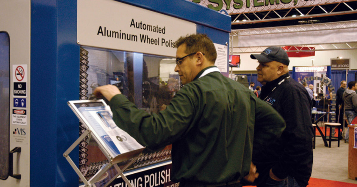 Vis Polish System Gives Aluminum Rims A Mirror Finish