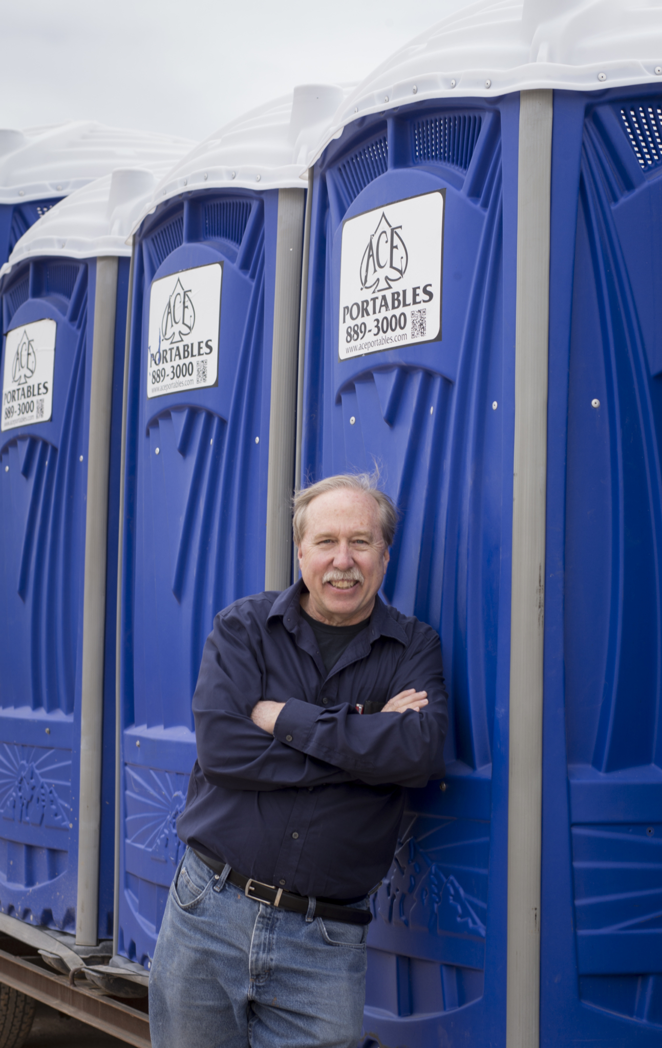 John Fehser, owner of Ace Pumping & Portables
