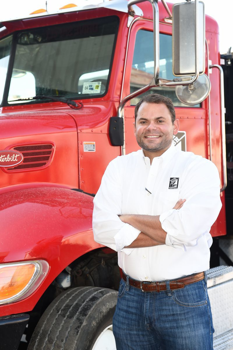 Brother Frommeyer of River Parish Disposal in Metairie, Louisiana