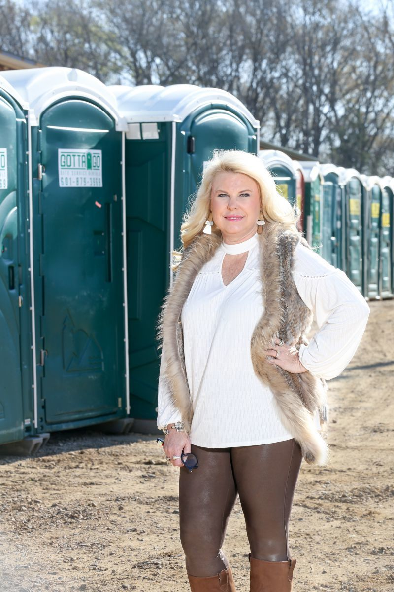 Lauren McGraw of Gotta Go Site Service Rentals in Jackson, Mississippi