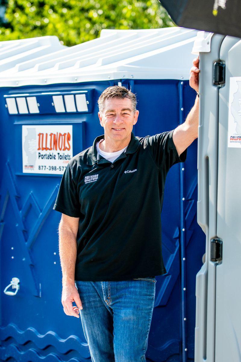 Russ Gulliford, Illinois Portable Toilets owner