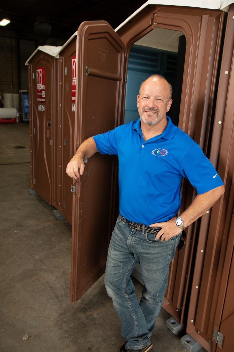 Gary Weiner of Mr. John in Keasbey, New Jersey