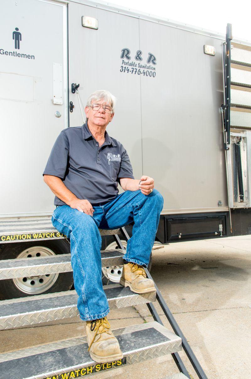 Jim Reisinger of R & R Sanitation in St. Louis